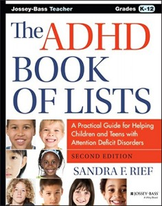 adhd book of lists 2nd Edition 6-15-15