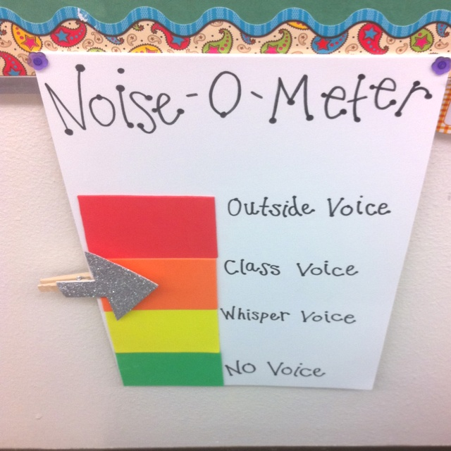 Quiet Classroom Ideas ~ Noise control strategies for the classroom sandrarief